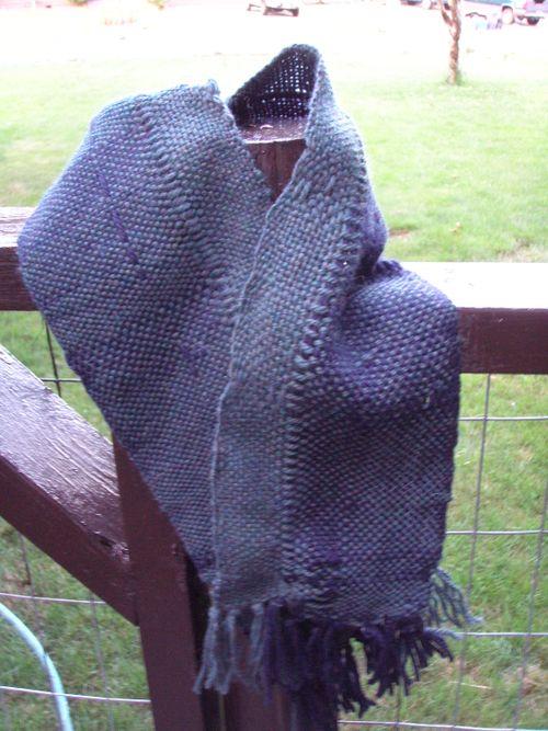 First weaving