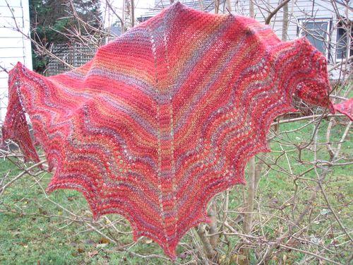 Multnomah shawl #2
