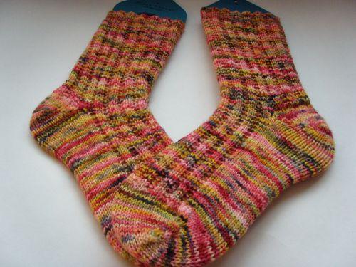 Koigu garter rib socks3