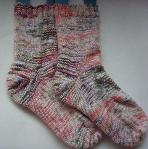 Socks 2010 1st pair