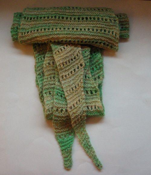 Handspun lacy baktus 3