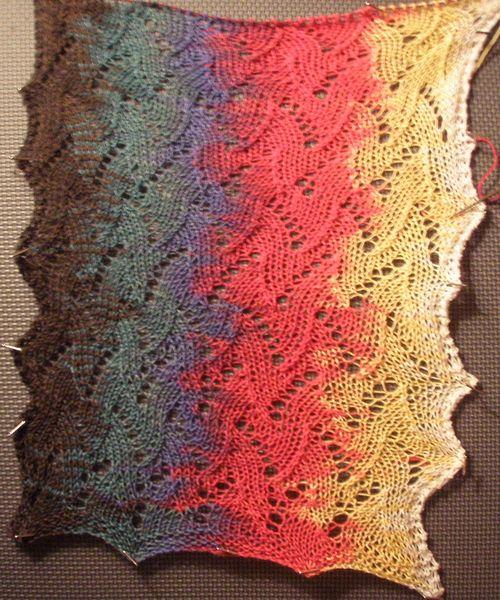 Olympic scarf wip 2b