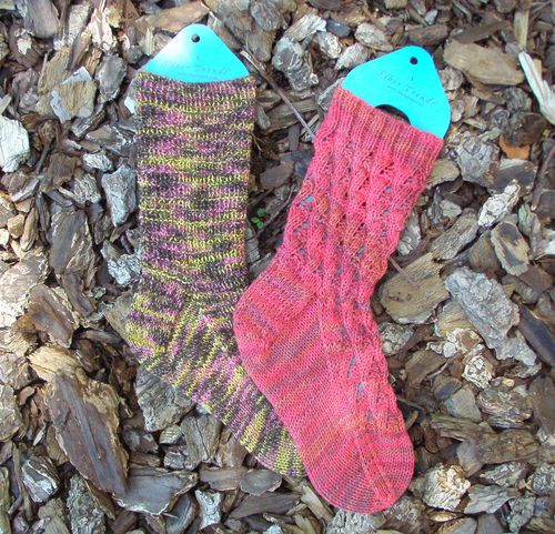 Knitspot socks flat