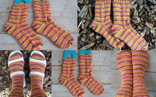 Regia canada socks collage