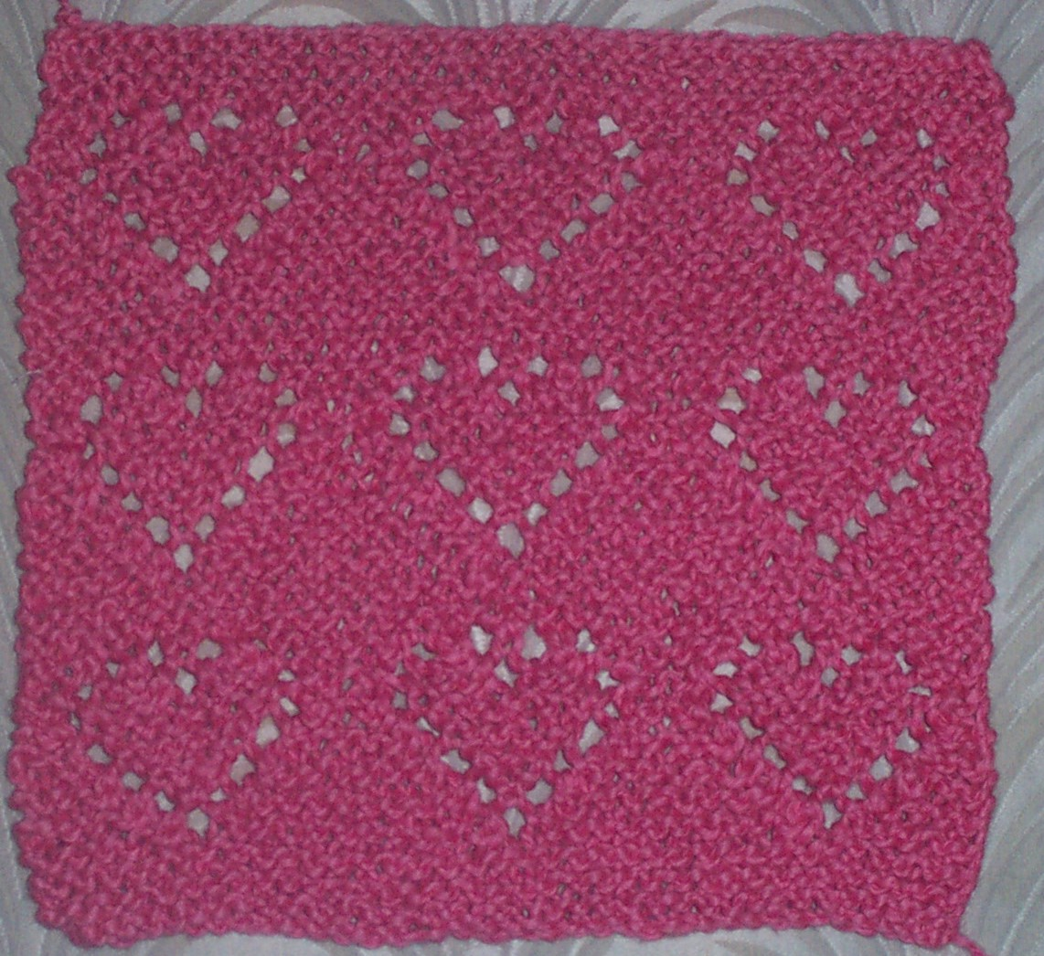Close to my Heart: Dishcloth Knit-a-long